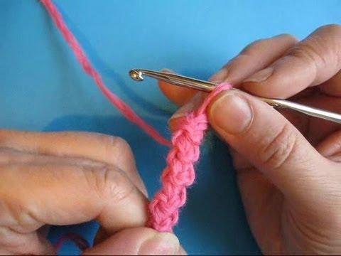 Вязание крючком урок 22 -