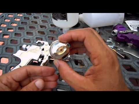 Harbor Freight Hvlp Spray Gun Review Also Cleaning And