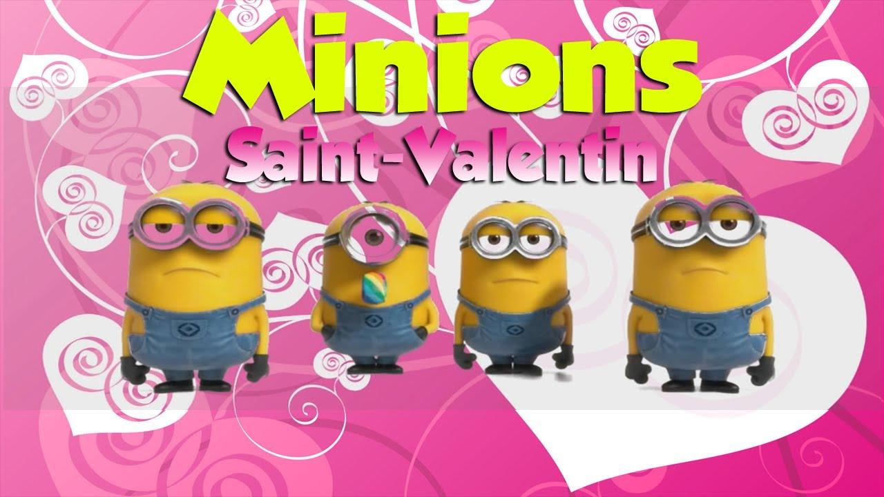 Minions saint valentin youtube - Minion amoureux ...