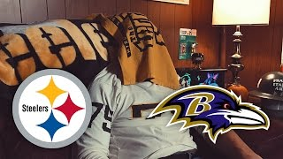 Dad Reacts to Steelers vs Ravens (Week 9)