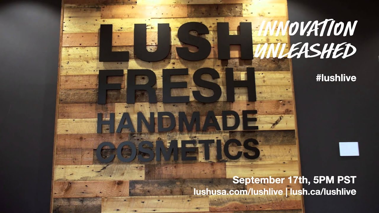 #LushLive: Innovation Unleashed Fall 2015 Trailer
