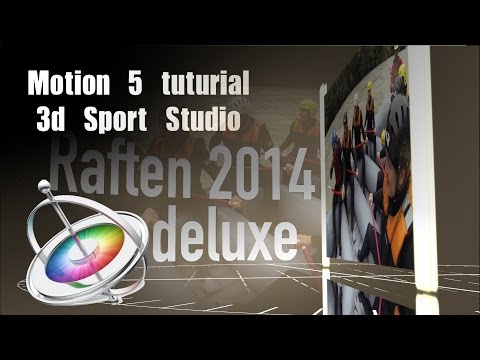Motion 5 Sport Center Tutorial deutsch