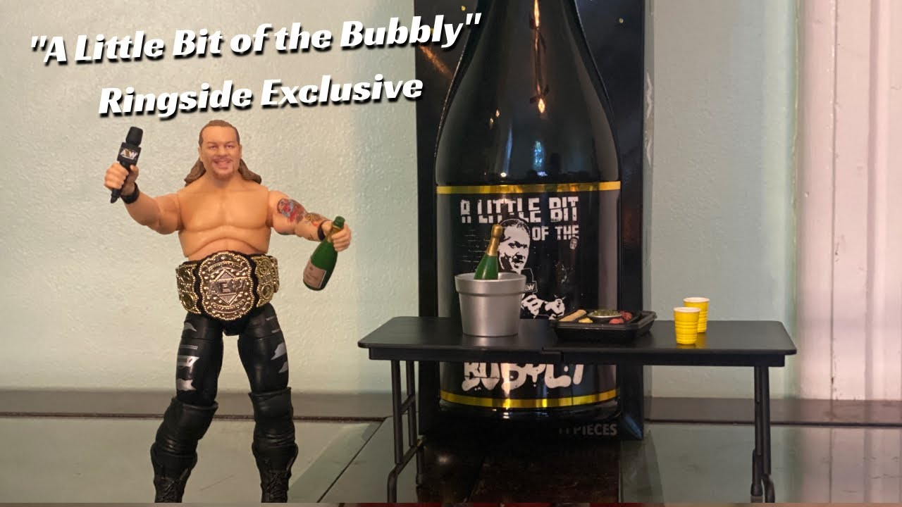 """Ringside Exclusive """"A Little Bit of the Bubbly"""" Chris Jericho AEW Unrivaled Collection Unboxing!!"""