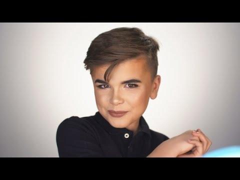 Reuben De Maid S First Makeup Tutorial Youtube