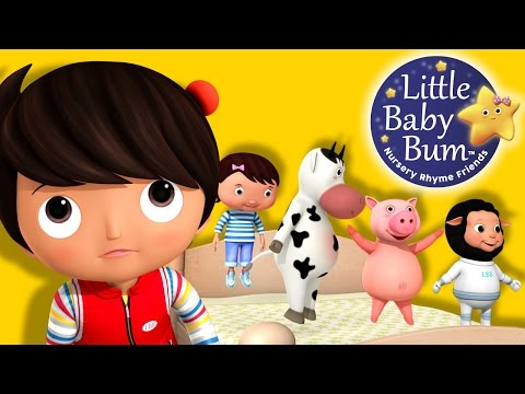 Thumbnail: Five Little Baby Bum Friends Jumping On The Bed | Nursery Rhymes | Original Song By LittleBabyBum!