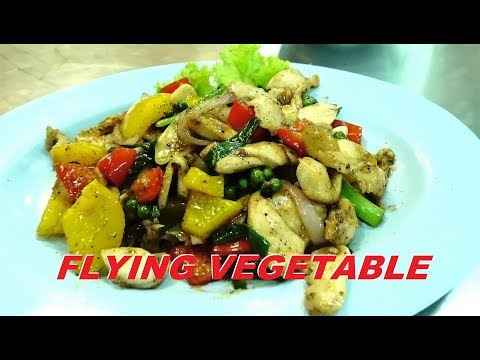 FOOD REVIEW THAILAND – PATTAYA :  The Flying Vegetable restaurant.