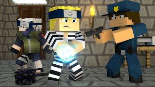 Minecraft : O NARUTO FOI PRESO !! - ( Polícia e Ladrão)