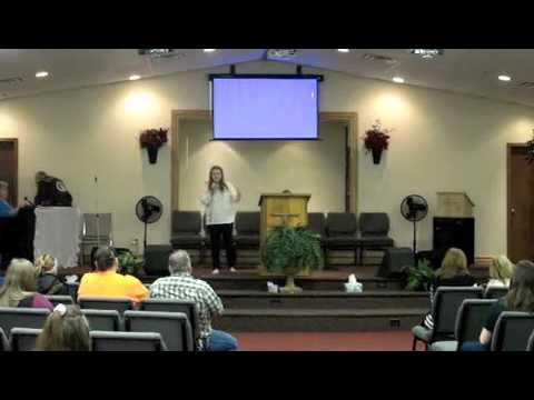 GV 3-23-14 (Guest Speaker: Sarah Alexander)