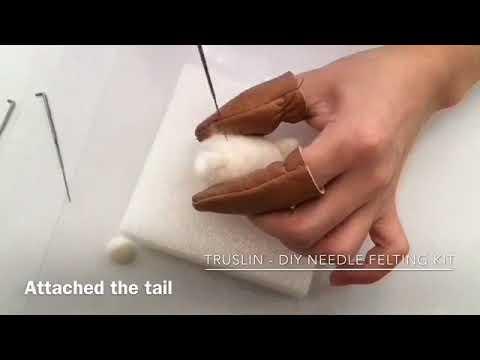 How to needle felt a dog - Pomeranian
