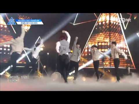 [Produce 101] Nation's Sons- Never Stage Performance with Official Audio
