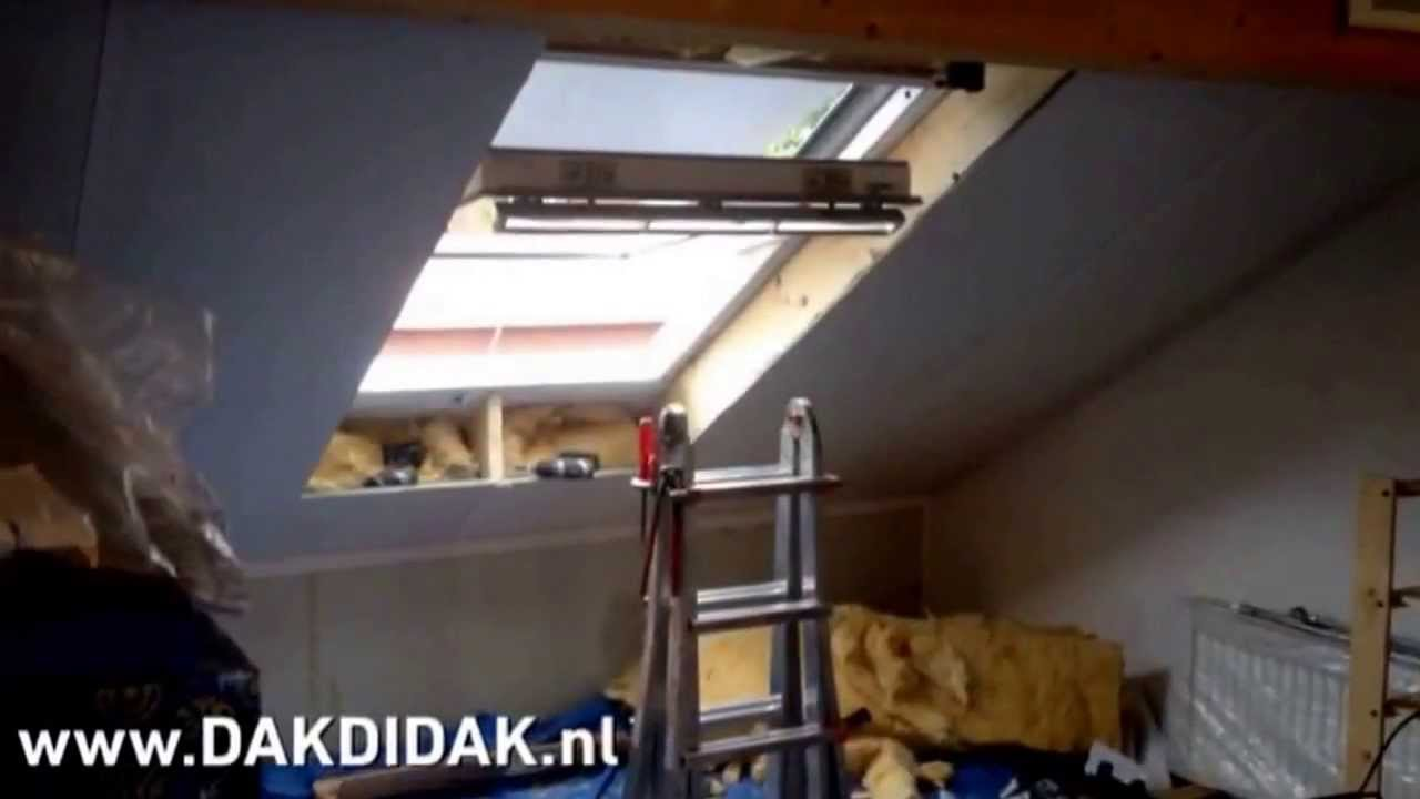 velux ggl sk10 monteren in wageningen nabij ede en veenendaal youtube. Black Bedroom Furniture Sets. Home Design Ideas
