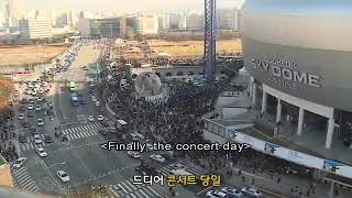 BTS memories 2017 concert D-day making film