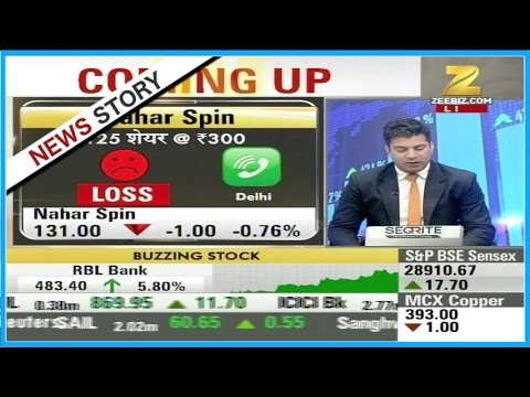 Experts outlook and suggestion on the stocks of 'Nahar Spin', IDBI, Diwan Housing etc
