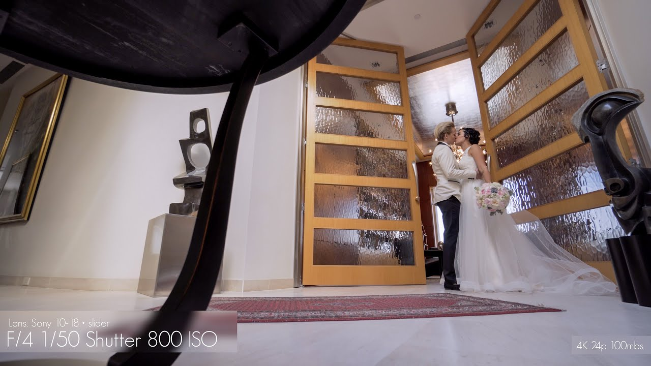 Real Weddings Youtube: Real Wedding Shoot With The Sony A6300
