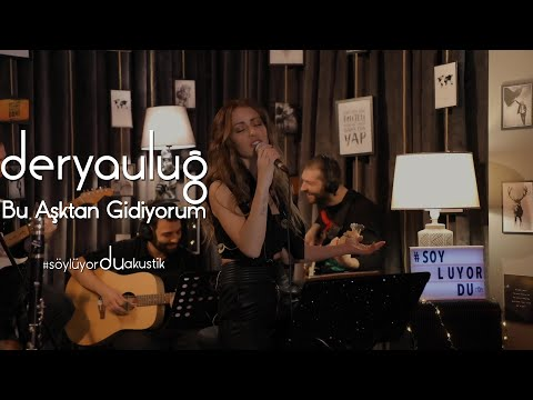 Derya Uluğ - Bu Aşktan Gidiyorum (Onur Mete Cover) | Akustik