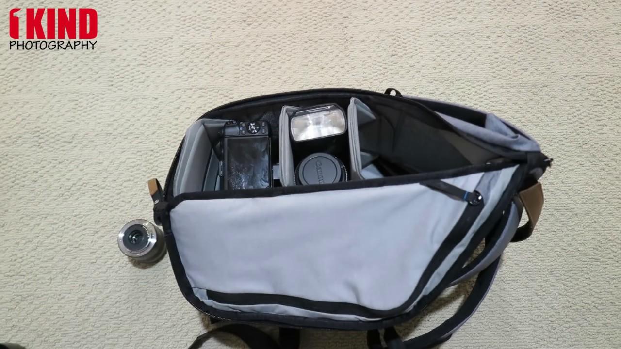 e2bd9bacf2 Gear Load  Peak Design Everyday Backpack 20L - Ash -- Review Link in  Description