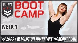 28 Day Resolution Jumpstart Workout Plan: Week 1- BeFiT Bootcamp