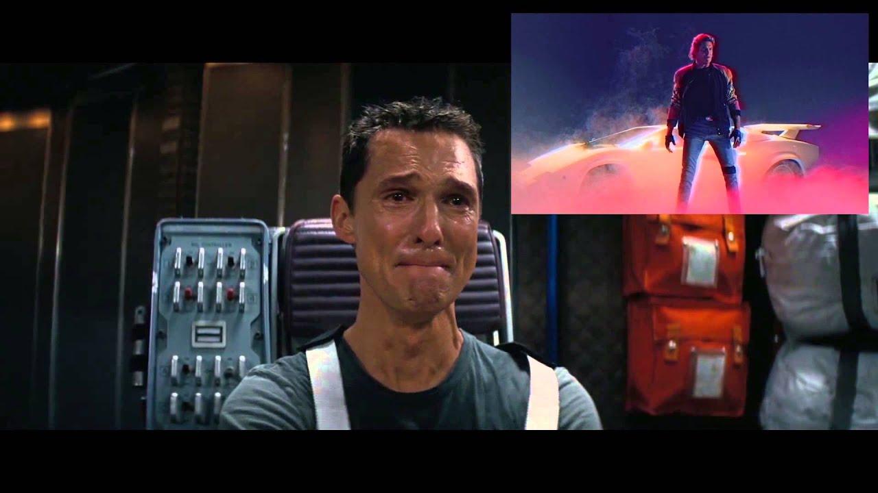 Matthew Mcconaughey's reaction to