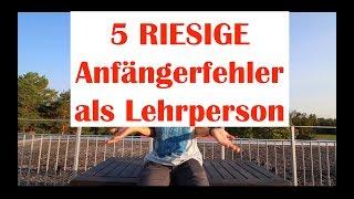 5 TYPISCHE Lehrer-ANFÄNGER-Fehler im Berufseinstieg ;)