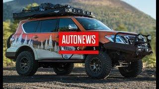 Nissan представил внедорожник Armada для экстремального бездорожья