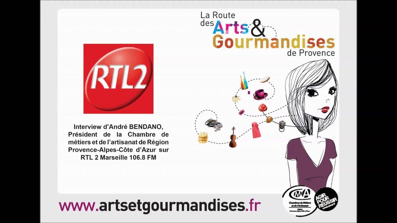Interview d André Bendano sur RTL2 Marseille