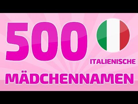 500 Beliebte Und Schöne Italienische Mädchennamen ❤