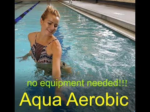 Aqua Aerobic: Best Cardio Exercises In The Water
