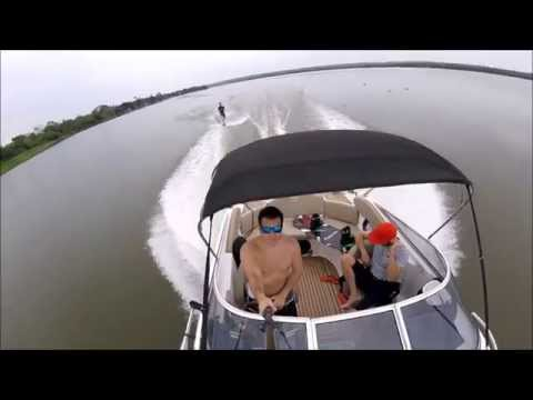 Wakeboard GoPro Hero4 Session outubro15  Rio Tiete Brazil Wakeboarding Wakeboard