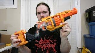Review: Nerf Doomlands 2169 Lawbringer- Orange Trigger