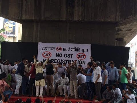 GST fallout: Surat textile workers' strike