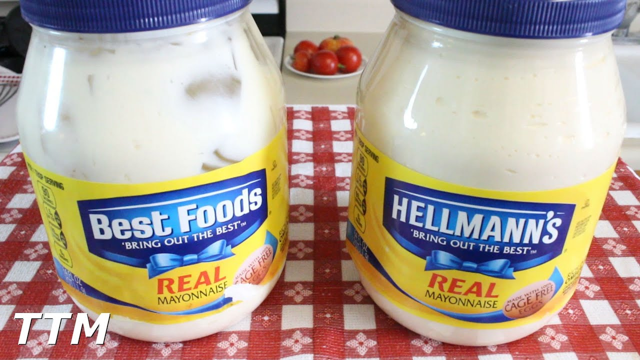Best foods vs hellmann 39 s mayonnaise east coast vs west coast difference between mayonnaise - Make best mayonnaise ...