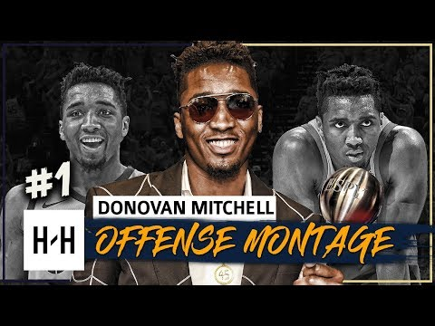 Donovan Mitchell Offense Highlights 2017-2018 Season (Part 1) - Best Breakthrough Athlete at ESPYS!