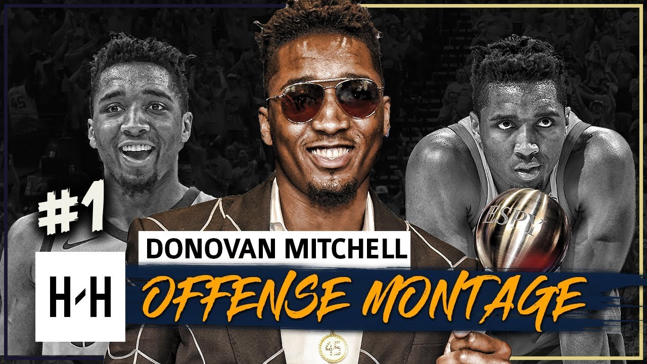 donovan-mitchell-offense-highlights-2017-2018-season-part-1-best-breakthrough-athlete-at-espys