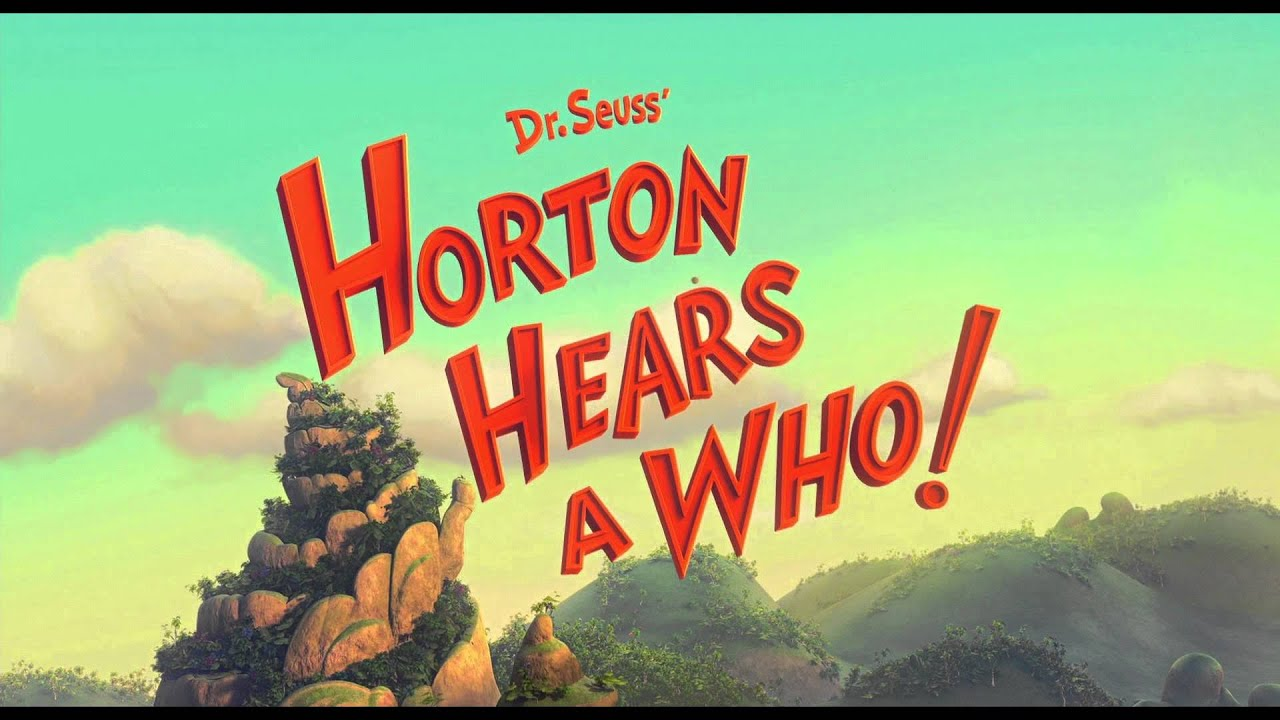 Dr Seuss Horton Hears A Who Is Better Than Ted Youtube