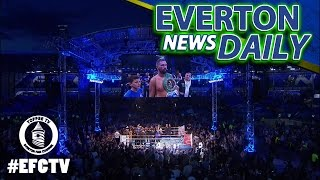 Tony Bellew Rocks Goodison Park | Everton News Daily