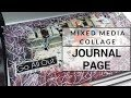 Art Journal Page Step by Step | Go All Out