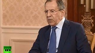 Лавров: Башар Асад — меньшая угроза для Сирии, чем захват страны террористами