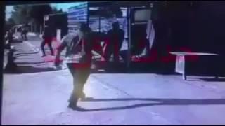 لحظة القبض على انتحاري يستهدف مدينة الكاظمية