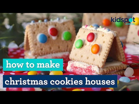 Easy Recipe: How To Make Little Cookie Houses