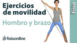 rutina de ejercicios de auto movilizacin de hombro y brazo