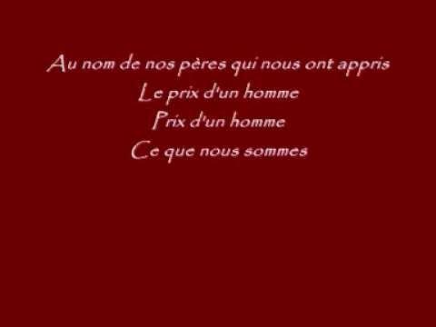 1789- Les amants de la bastille!!! Pour la peine (paroles)