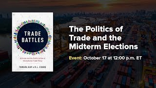 The Politics of Trade and the Midterm Elections