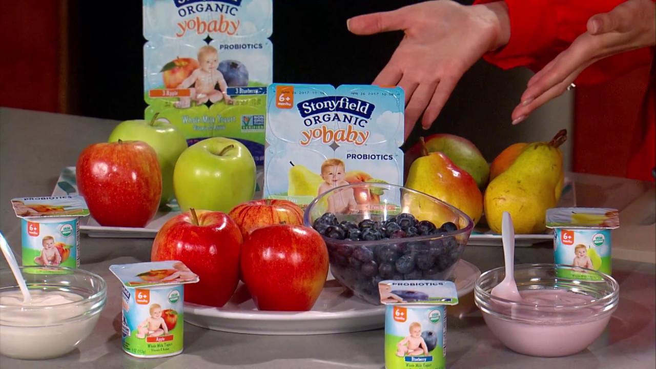 Dr. Tanya Talks Baby Probiotics* with Stonyfield YoBaby Yogurt