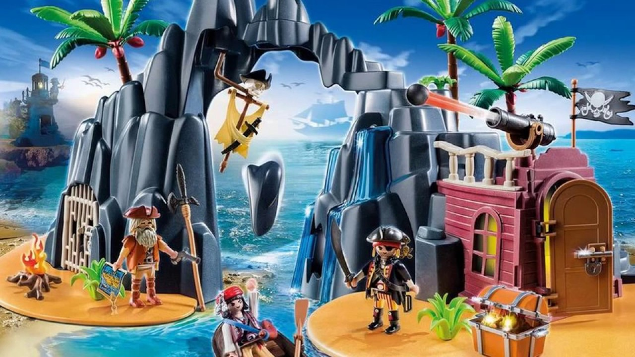 pr sentation collection playmobil 2017 les pirates youtube. Black Bedroom Furniture Sets. Home Design Ideas