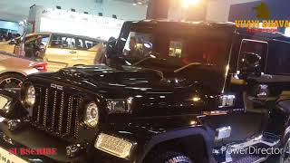 DC Hammer   Modified Thar   Costs 9 Lakh over the donor vehicle 2018