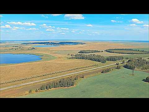 Озеро Кривое Курганская область (DJI Фантом 3 стандарт)