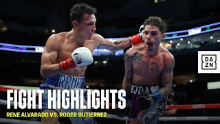 HIGHLIGHTS | Rene Alvarado vs. Roger Gutierrez