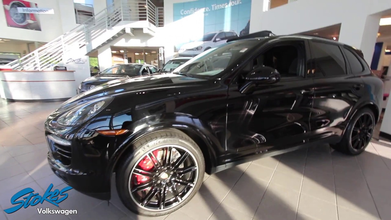 preowned porsche cayenne turbo s for sale review stokes volkswagen north charleston sc. Black Bedroom Furniture Sets. Home Design Ideas