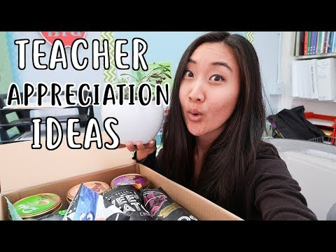 Teacher Appreciation Week Gift Ideas 2018