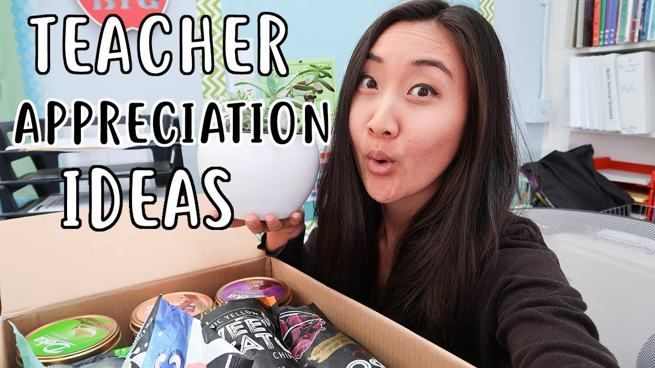 Teacher Appreciation Week Gift Ideas 2018   YouTube